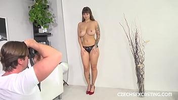 Tits casting big Casting HD