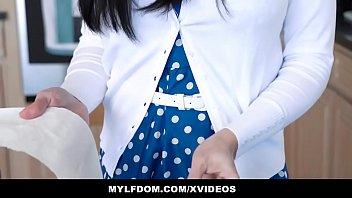 MYLFDOM - Horny Mylf (CassandraCain) Gagged For Hardcore Pounding