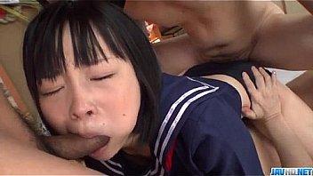 Sensational gangbang with young Yuri Sakurai