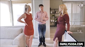 Mommy and daughter are dating the same lucky guy