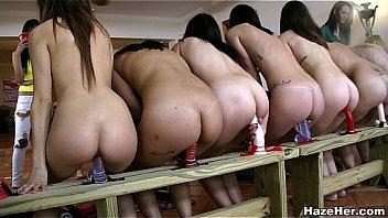 huge dildo orgy for new lesbians