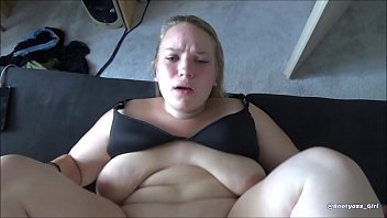 Horny BBW Wife Suck and Fuck Her Husband