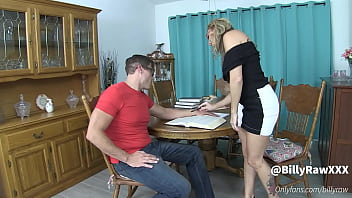 Nerdy Student Has Sex With His Teacher -Billy Raw
