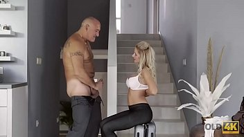 OLD4K. Remarkable model Summer Brooks has hot sex with old man