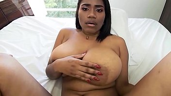 Big Tits Big Ass Brown Latina Riding - VR