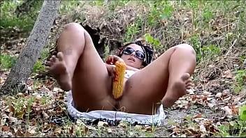 Corn Fuck Outdoor