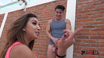 Frida gets her ass and pussy rammed hard by mexican studs