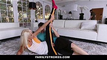 Family Stokes - Yoga Trainer Fucks His Student (Marie Mccray)