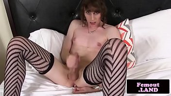 While wanking ass solo femboi cock her toys more modest necessary
