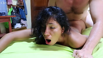 Hard sex and cum for my latin girlfriend Christina Rio