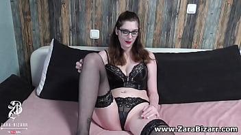 German dominatrix fucks her slave hard with strapon