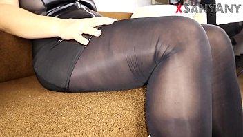 Will my nylon pussy and legs charm you? xSanyAny