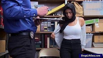 Ella Knox gives smashed by nasty LP officer.