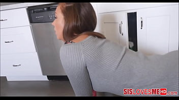Fucking my roomate while she's doing her chores Thumbnail