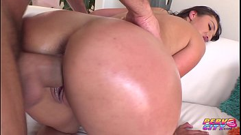 This sexy brunette is 6 feet tall and loves a big cock up her ass.