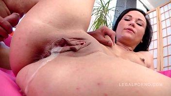 Teen slut Niki Sweet screams and creams during intense shaved pussy fuckeria