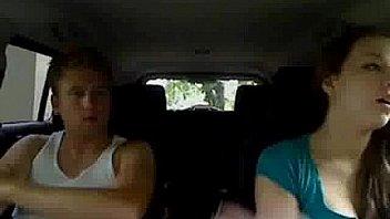 Cute Teen In Car Fucking