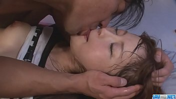 Hot japan girl Maomi Nakazawa suck a cock