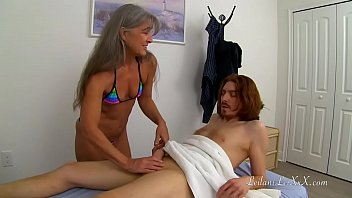 Milf Gives Massage to Redhead TRAILER