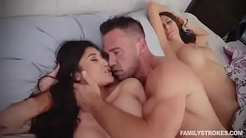 Fuck daughter while mom sleeping