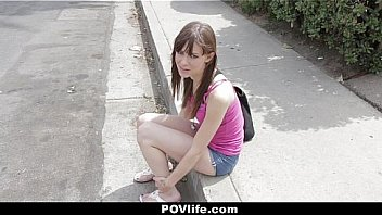 POV Life - Skinny Brunette (AlexaNova) Fucks On The Pool Table