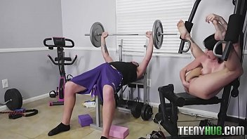 The Real Teen Hardcore Fuck In GYM