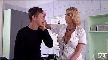 Busty Nurse fucks her Patient - Pornhubcom