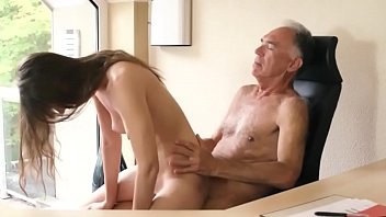 18 Year Girl Fucked Hard By Old Guy thumbnail