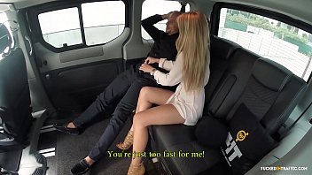VIP SEX VAULT - Lucky guy gets hot fuck with Czech babe In Taxi