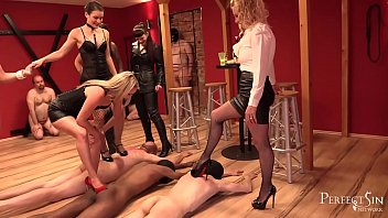 Mistresses' Party - Dominas Have Fun With Slaves