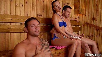 Cfnm Sauna
