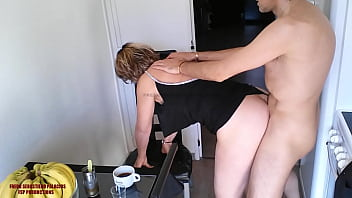 Family Very Hot mother Blonde Perfect Hot Ass Hard Fuck Ceampie HD.