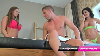 Babestation anal orgy with UK pornstars in Ibiza
