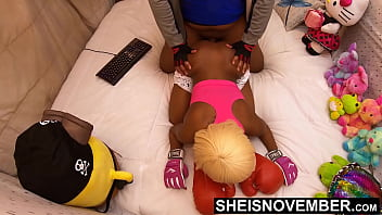 High Definition. Msnovember Big Booty Nailed Doggystyle By Nasty Old Man Hung Aroused Cock. Fornicating In Her Bed On Sheisnovember