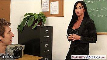 Beauty sex teacher Jewels Jade fucking in classroom