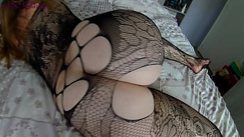 My step sister in her sexy lingerie wants to get her huge ass fucked hard!