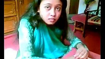 Beautiful Bangla GF Boobs Show & Pressed In Red Bra