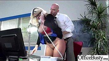 Office Busty Girl (julie cash) Get Banged Hardcore clip-16