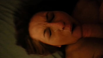From a stranger takes blindfolded huge facial slutwife are some more