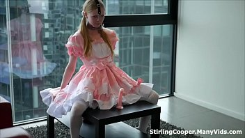 Petite Babygirl used as a Fuckdoll by her rough Daddy