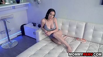 Stepmom has fun with son cause dad is s. in bed