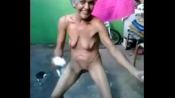 Indian desi village granny