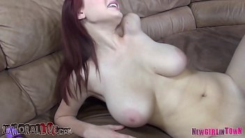 Jessica Robbin, Busty Redhead Teen Has the Tiniest Pussy in Porn! Shy Girl with MASSIVE BOOBS is in for a Surprise on Her Porn Casting!