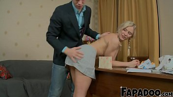 Blonde Step Sis Getting Her Ass Fucked For The First Time