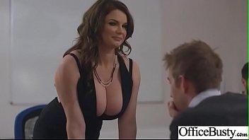 (Tasha Holz) Busty Girl In Hard Style Sex In Office clip-30