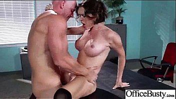 Naughty Girl (krissy lynn) With Big Round Tits In Office Get Sex movie-26