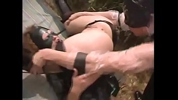 A sexy slave in captivity is violently banged in_the ass by her master Thumbnail