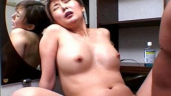 Precious Asian babe rides cock like mad