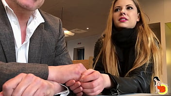 Rebecca Volpetti does threesome with 2 guys