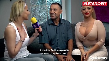 BUMS BESUCH - Dana Jayn - Big Tits Pornstar Bangs Hardcore With A Fan